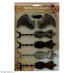 Razítka - Andělská křídla