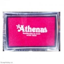 Athena - růžovo-červená