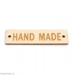 Dřevěné cedulky - Hand made