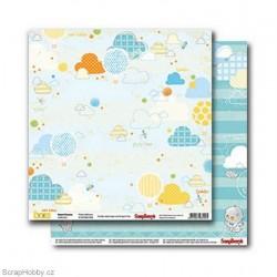 Oboustranný papír - Sweet Dreams - Pretty Balloons