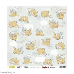 Oboustranný papír - Sweet Dreams - Hide & Seek