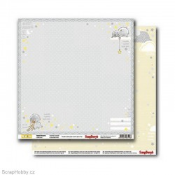 Oboustranný papír - Sweet Dreams - Twinkle Twinkle