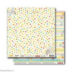 Oboustranný papír - Sweet Dreams - Spots & Stripes