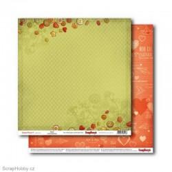 Oboustranný papír - Sweetheart - Amour
