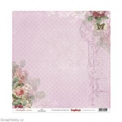 Jednostranný papír - Butterflies - Alice