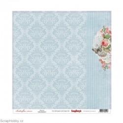 Jednostranný papír - Butterflies - Victoria