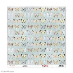 Jednostranný papír - Butterflies - Butterfly