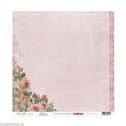 Jednostranný papír - Butterflies - Tenderness
