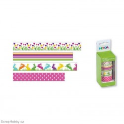 Washi páska - Sada - Tulipány