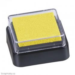 Razítkovací barva - žlutá.