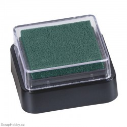 Razítkovací barva - tmavě zelená