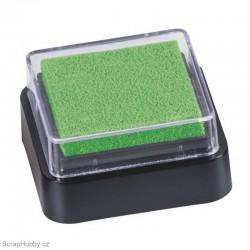Razítkovací barva - světle zelená