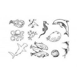 Razítka - Mořský svět