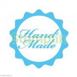 Transparentní razítko - Hand Made
