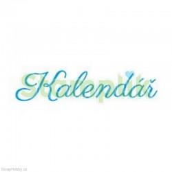 Transparentní razítko - Kalendář