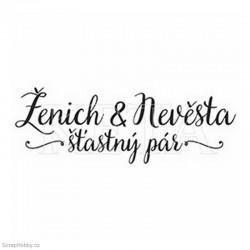 Ženich & Nevěsta - šťastný pár