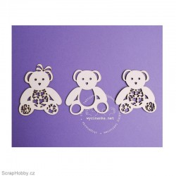 Medvídci 3ks