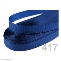 Taftová stuha - tmavě modrá