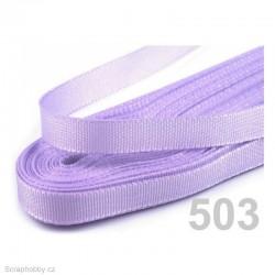 Taftová stuha - světle fialová