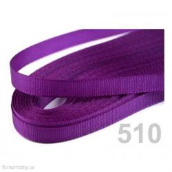 Taftová stuha - tmavě fialová