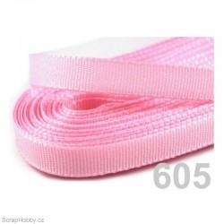 Taftová stuha - růžová