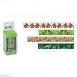 Washi páska - Sada - Veverky, ptáčci, lišky...