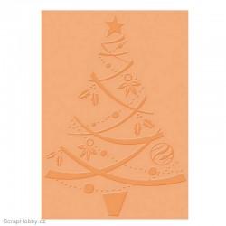 Embosovací kapsa - Vánoční stromeček