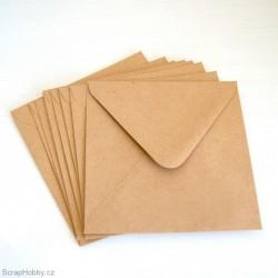 Obálky recyklované čtvercové