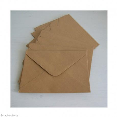 Obálky recyklované obdelníkové