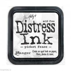 Razítkovací barvy - Distress Ink - Picket fence