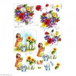 Květiny ve džbánku