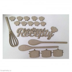 Rodinné recepty 17 ks