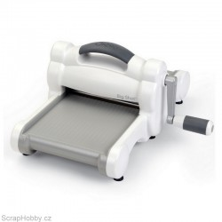 Strojek - Big Shot - bílo-šedý