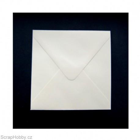 Obálky smetanové čtvercové