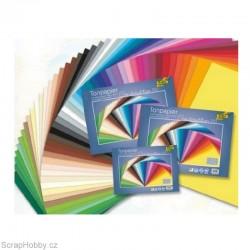 Barevné papíry 50 ks