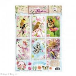 Výřezy - Ptáčci a motýlci