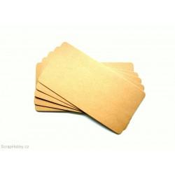 Recyklované papíry - oblé rohy