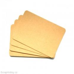 Recyklované papíry A6 - oblé rohy