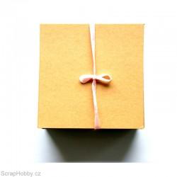 Recyklované papíry - čtvercové - 100 ks