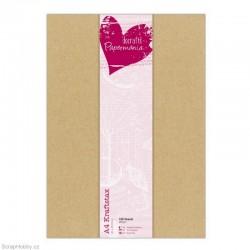 Sada kartonových papírů - Kraftstax A4 ( 100 ks)
