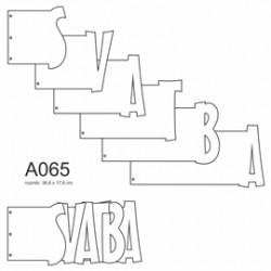 Album Svatba - 36,6 x 17,6 - 6 listů