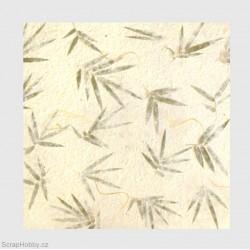 Thajský papír - bambus
