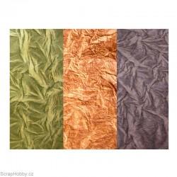 Nepálský papír - Imitace kůže - zelená - VODĚODOLNÁ