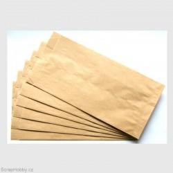 Papírový sáček - recyklovaný 14 x 28 cm
