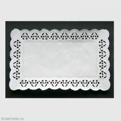 Dekorativní krajka - hranatá - 100 ks