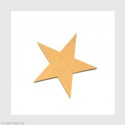 Hvězdičky - 6,5 cm - 100 ks