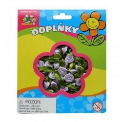 Kytičky fialové - látkové