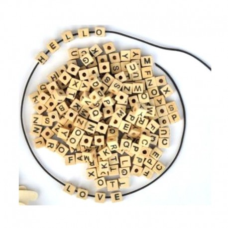Scrapbooking - Dřevěné kostičky