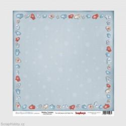 Oboustranný papír -Once Upon A Winter - Holiday Festivities