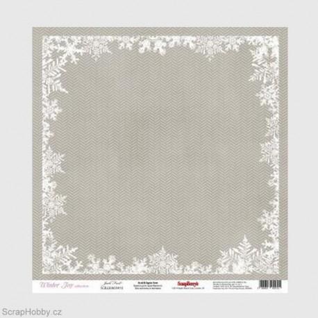 Jednostranný papír - Winter Joy - Jack Frost